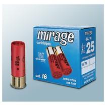 Brokový náboj Mirage 16/70 T3 29 g brok 3,1 mm