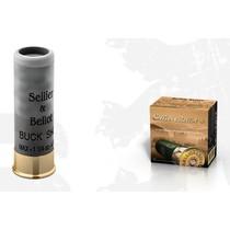 Brokový náboj S&B 12/70 Buck Shot 36 g brok 4,5 mm