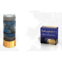 Brokový náboj S&B 12 Practical Buck Shot 8,4 mm