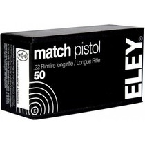 Náboj Eley 22 LR Match Pistol 2,59 g