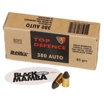 Náboj Fiocchi 380 Auto Black Mamba 5,5 g / 85 grs
