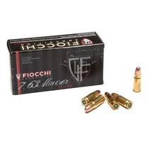 Náboj Fiocchi 7,63 Mauser FMJ 5,7 g / 88 grs