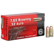 Náboj Geco 7,65 Browning FMJ 4,75 g