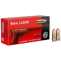 Náboj Geco 9 mm Luger FMJ 8,0 g