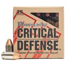 Náboj Hornady 380 Auto FTX Critical Defense 5,8 g / 90 grs
