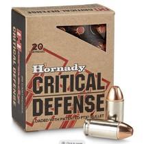 Náboj Hornady .45 ACP FTX Critical Defense 12 g / 185 grs