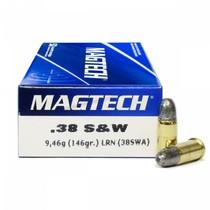Náboj Magtech 38 S&W LRN 9,46 g