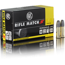 Náboj RWS Rifle Match S 22 LR