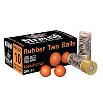 Náboj Sterling 12/70 Rubber Two Balls 6 g