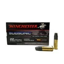Náboj Winchester Subsonic 22 LR 40gr