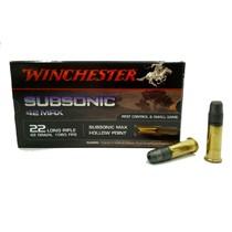 Náboj Winchester Subsonic Max 22 LR 42gr