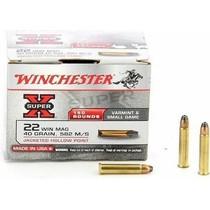 Náboj Winchester Super-X 22 WMR JHP