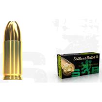 Pistolový náboj S&B 9 mm Luger NON TOX TFMJ 7,5 g