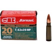 Kulový náboj Barnaul 7,62x39 HP