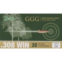Kulový náboj GGG .308 HPBT Sierra Match King 155gr