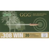 Kulový náboj GGG .308 HPBT Sierra Match King 168gr
