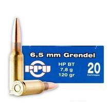 Kulový náboj Prvi Partizan 6,5 mm Grendel HPBT 7,8 g