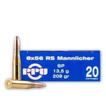 Kulový náboj Prvi Partizan 8x56 RS Mannlicher SP 13,5g