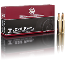 Kulový náboj RWS 222 Rem TMS 3,24 g