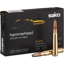 Kulový náboj Sako 8x57 JS Hammerhead 13,0 g