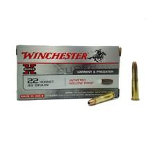 Náboj Winchester Super X 22 Hornet JHP 2,98 g