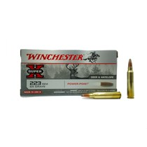 Náboj Winchester Super X 223 Rem Power-Point 4,15 g