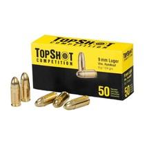 Pistolový náboj TopShot 9 mm Luger FMJ 8 g